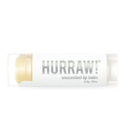 Hurraw Unscented Lip Balm 4.3g (Bx24) | HURRAW