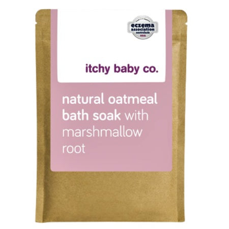 Itchy Baby Co Natural Oatmeal Bath Soak With Marshmallow Root 200g