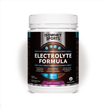 electrolyte formula berry flavour 500g | ISOWHEY SPORTS