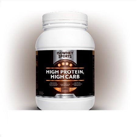 Isowhey Sports Chocolate High Protein, High Carb 1.2Kg | ISOWHEY SPORTS