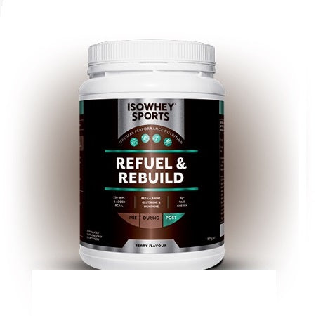 refuel & rebuild 500g | ISOWHEY SPORTS