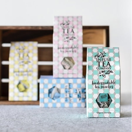 Infuse Tea Organic Peppermint & Lime Tea Pouches 15Pk | INFUSE TEA COMPANY
