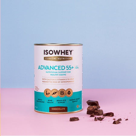 Isowhey Weight Management Clinical Nutrition Advanced 55+ Chocolate 400g | ISOWHEY WEIGHT MANAGEMENT