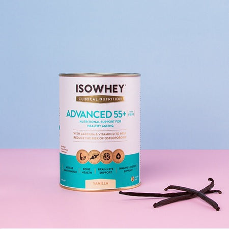 Isowhey Weight Management Clinical Nutrition Advanced 55+ Vanilla 400g | ISOWHEY WEIGHT MANAGEMENT