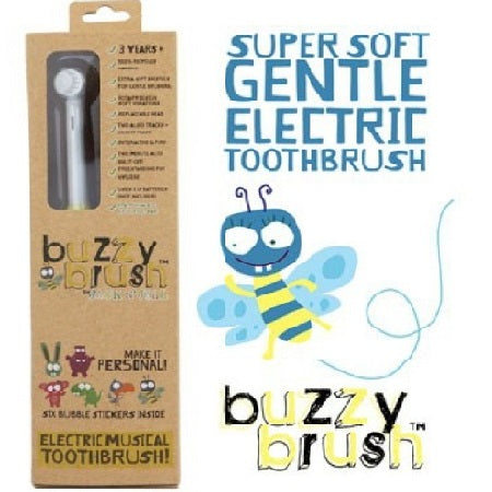 buzzy brush musical electric toothbrush (bx8) | JACK N' JILL