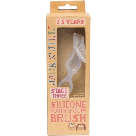SILICONE TOOTH & GUM BRUSH (BX8) | JACK N' JILL