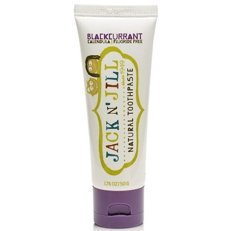 NATURAL BLACKCURRANT TOOTHPASTE 50g (BX6) | JACK N' JILL
