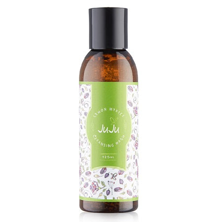 cleansing wash lemon myrtle 125ml | JUJU