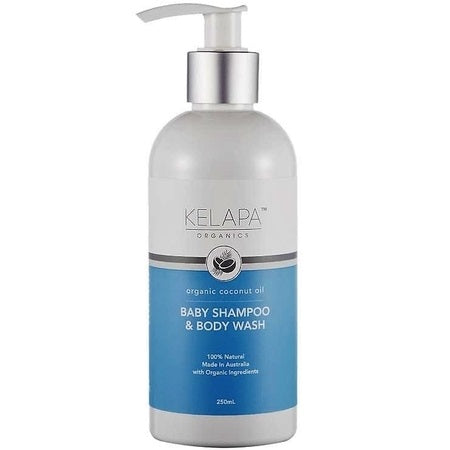baby shampoo & body wash 250ml | KELAPA