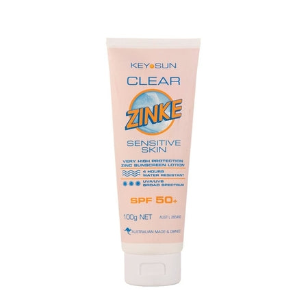 Key Sun Clear Zinke Sensitive Skin Spf50+ 100g