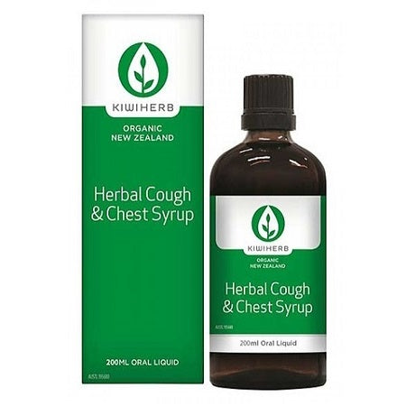 herbal cough & chest syrup 200ml complex | KIWIHERB
