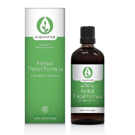herbal throat formula 50ml complex | KIWIHERB