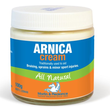 Martin And Pleasance Arnica Herbal Cream 100g | M&P HERBAL CREAMS