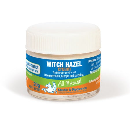 Martin And Pleasance Witch Hazel Herbal Cream 20g