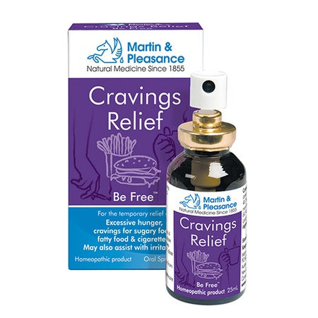 Martin And Pleasance Cravings Relief Spray 25ml | M&P HOMEOPATHIC COMPLEX