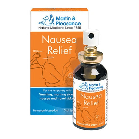 Martin And Pleasance Nausea Relief Spray 25ml | M&P HOMEOPATHIC COMPLEX