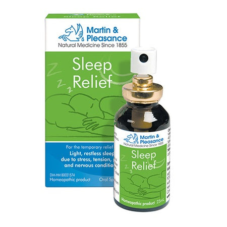 Martin And Pleasance Sleep Relief Spray 25ml | M&P HOMEOPATHIC COMPLEX