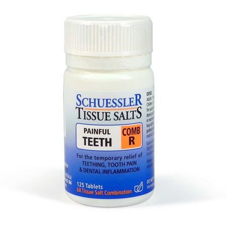 comb r (painfull teeth) 125tabs | SCHUESSLER TISSUE SALTS
