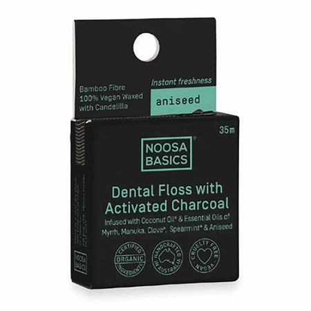 Noosa Basics Dental Floss Aniseed 35m | NOOSA BASICS