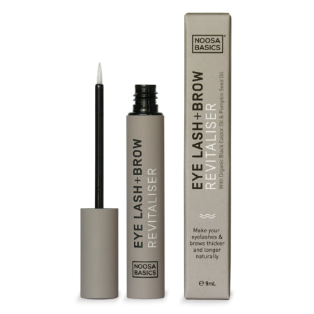 EYE LASH + BROW REVITALISER WITH ORGANIC CASTOR OIL 10ml | NOOSA BASICS
