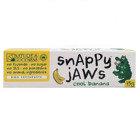 Nature's Goodness Snappy Jaws Cool Banana Toothpaste 75g | NATURES GOODNESS