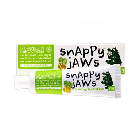 Nature's Goodness Snappy Jaws Pineapple Toothpaste 75g