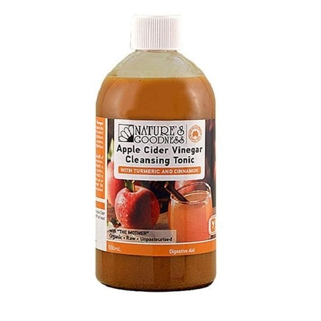 apple cider vinegar cleansing tonic 500ml | NATURES GOODNESS