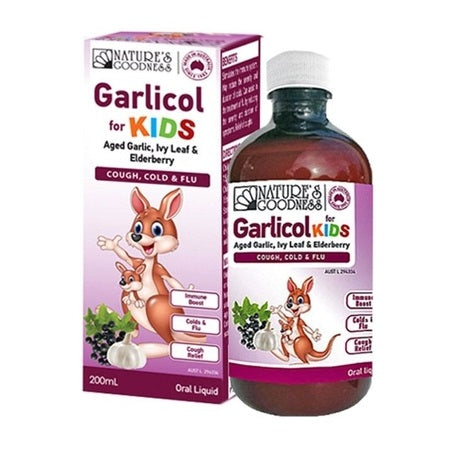 GARLICOL FOR KIDS 200ml | NATURES GOODNESS