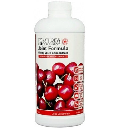 joint formula cherry juice concentrate 1l | NATURES GOODNESS