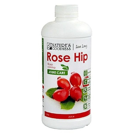 rosehip joint care juice concentrate 1l rose hips (rosa canina) | NATURES GOODNESS