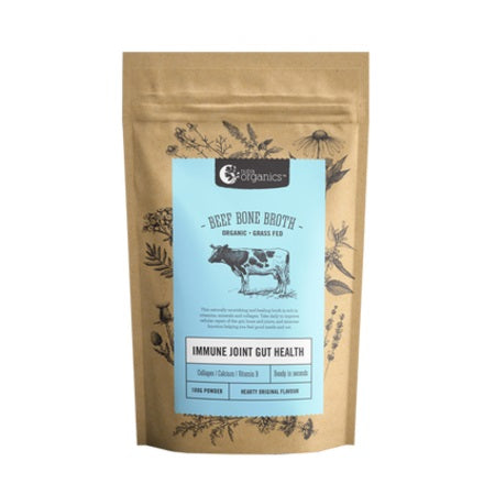 NUTRA ORGANICS BEEF BONE BROTH POWDER HEARTY ORIGINAL 100g | NUTRA ORGANICS