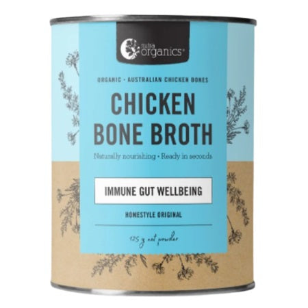 CHICKEN BONE BROTH POWDER HOMESTYLE ORIGINAL 100g | NUTRA ORGANICS