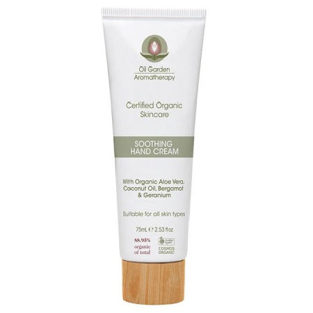 Oil Garden Soothing Hand Cream 75ml | THE OIL GARDEN