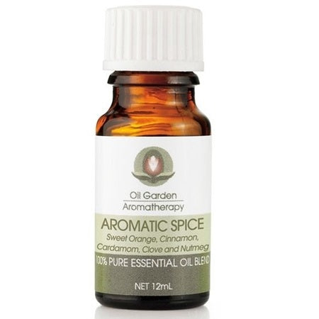 aromatic spice pure essentail oil blend 12ml | THE OIL GARDEN
