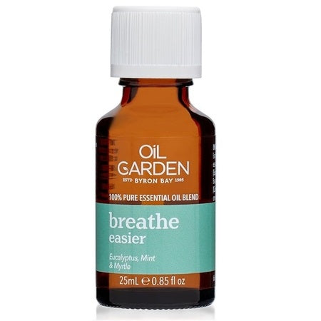 Oil Garden Breathe Easier Essential Oil Blend 25ml (Bx6) | THE OIL GARDEN