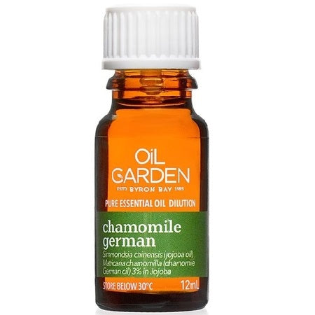 Oil Garden Chamomile German Essential Oil 3% In Jojoba 12ml | THE OIL GARDEN