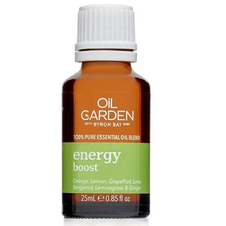 Oil Garden Energy Boost Essential Oil Blend 25ml (Bx6) | THE OIL GARDEN