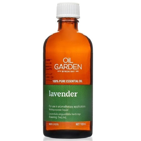 Oil Garden Lavender Essential Oil 100ml | THE OIL GARDEN