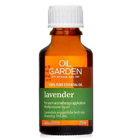 LAVENDER ESSENTIAL OIL 25ml | THE OIL GARDEN