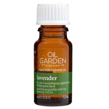 Oil Garden Lavender Essential Oil 12ml | THE OIL GARDEN