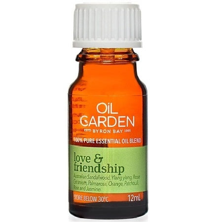 Oil Garden Love & Friendship Essential Oil Blend 12ml | THE OIL GARDEN
