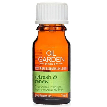 Oil Garden Refresh & Renew Essential Oil Blend 12ml | THE OIL GARDEN