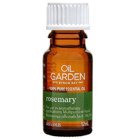 rosemary essential oil 12ml | THE OIL GARDEN