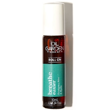 Oil Garden Breathe Easier Essential Oil Blend Roll On 10ml (Bx6) | THE OIL GARDEN