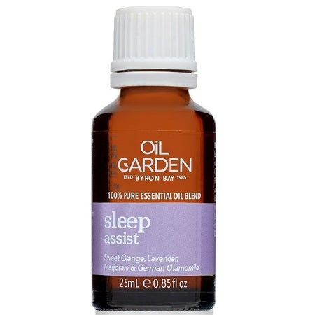 Oil Garden Sleep Assist Essential Oil Blend 25ml (Bx6) | THE OIL GARDEN