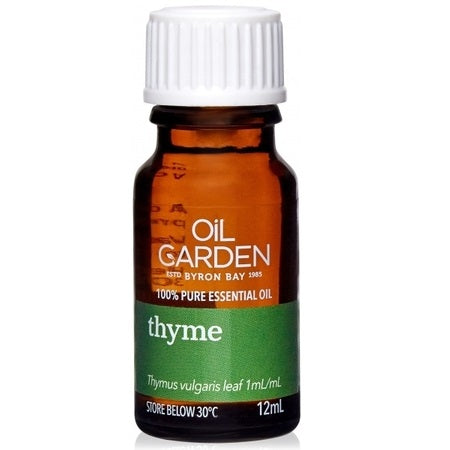 THYME ESSENTIAL OIL 12ml | THE OIL GARDEN