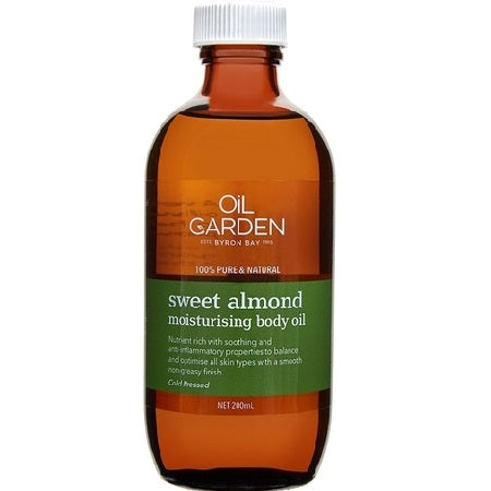 Oil Garden Sweet Almond Oil 200ml | THE OIL GARDEN