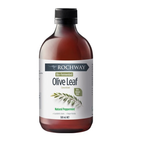 Rochway  Bio Fermented Olive Leaf Concentrate Peppermint 500ml *Temp Unavailable*