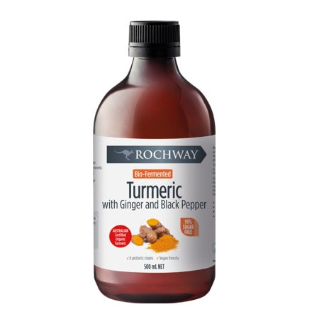 Rochway Bio Fermented Turmeric With Ginger & Black Pepper 500ml