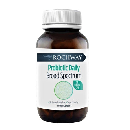 Rochway Probiotic Daily Broad Spectrum 60Caps